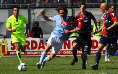 Diretta Live Cagliari-Napoli 10 Novembre 2010 Serie A