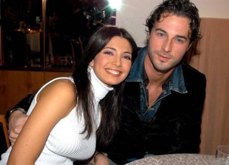 Alessia Mancini e Flavio Montrucchio festeggiano sette anni di matrimonio