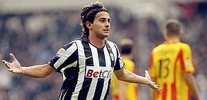 """AQUILANI SBLOCCA LA PARTITA DELLA JUVENTUS / Il centrocampista in goal contro il Lecce: """"Ci voleva proprio"""""""