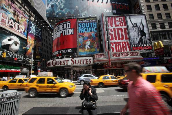 Taxi a Times Square (getty images)