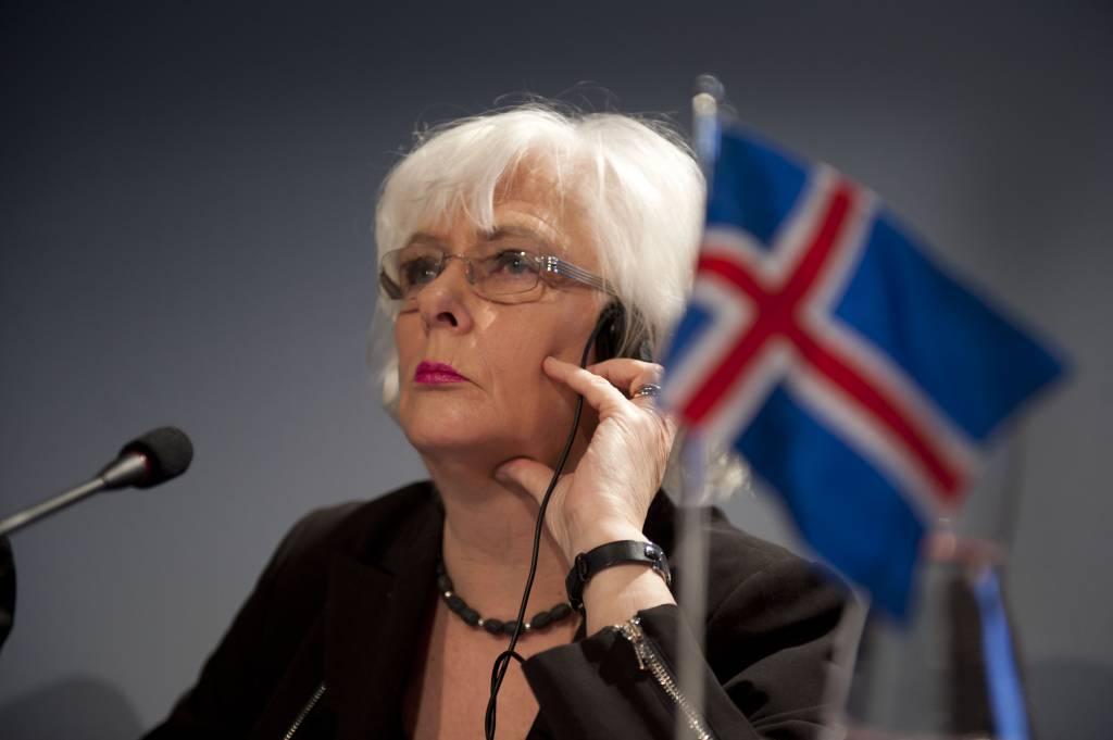 Jóhanna Sigurðardóttir, Primo Ministro islandese (Getty Images)