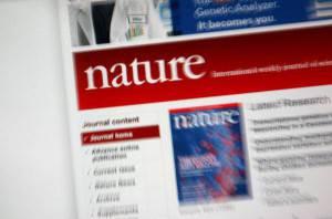 Il portale della rivista Nature (Getty Images)