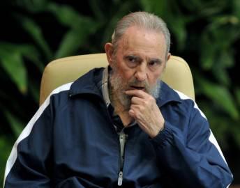 Fidel Castro in una foto del 19 aprile 2011 (Getty Images)