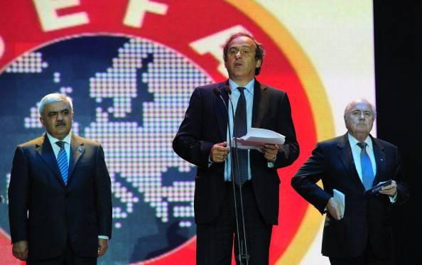 Il presidente Uefa Michel Platini (Getty Images)