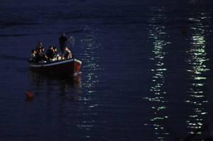 Migranti in rotta verso Lampedusa (getty images)