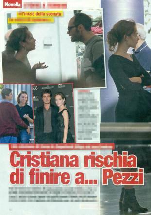 Cristiana Capotondi e Andrea Pezzi: amore in crisi?