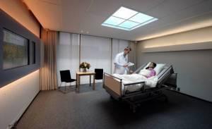 Paziente in ospedale (LEX VAN LIESHOUT/AFP/Getty Images)