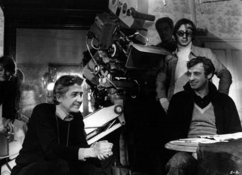 Alain Resnais con Jean-Paul Belmondo
