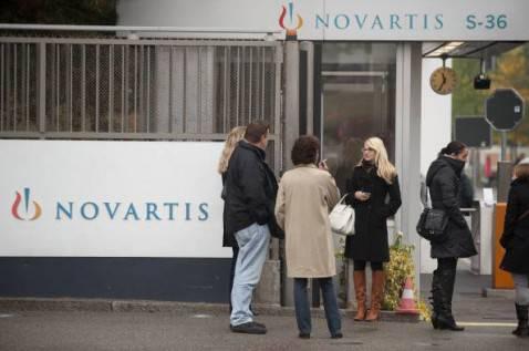 Il quartier generale della Novartis a Basilea (Foto Getty Images)