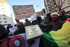 Manifestazione antirazzista (Getty Images)