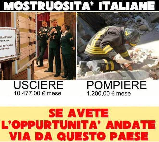 Le più grandi assurdità dell'Italia