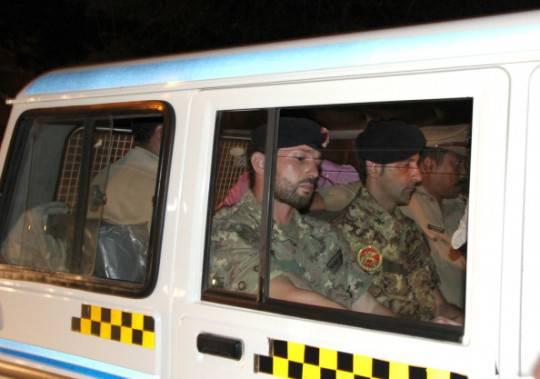 India: i marò italiani fiduciosi dopo la concessione della libertà su cauzione