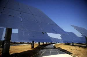 Pannelli solari a Fuentes de Andalucia (CRISTINA QUICLER/AFP/Getty Images)
