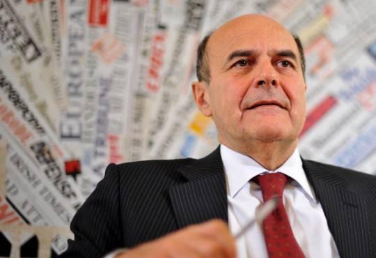 """Pd, Bersani: """"Cambieremo l'Italia trattando moralità e lavoro"""""""