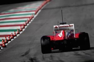 Fernando Alonso sul circuito del Mugello (Getty Images)