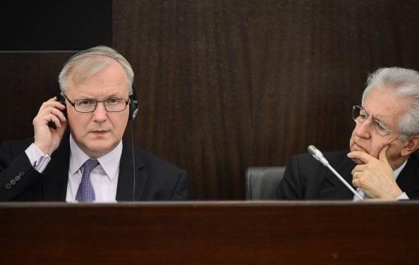 Governo Monti al capolinea, le reazioni dell'Unione Europea