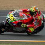 MotoGP 2012: Valentino Rossi e Ducati 'risorgono' a Le Mans, Casey Stoner 'bruciato' all'ultimo giro
