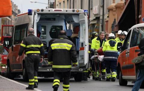 Ambulanza ( Pierre Teyssot/AFP/GettyImages)