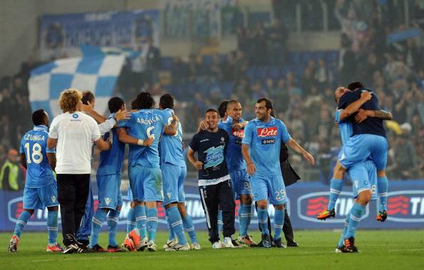 Il Napoli vince la Coppa Italia: un'ondata azzurra travolge la Juventus, festa-vittoria all'Olimpico (fotogallery)