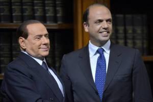 Silvio Berlusconi e Angelino Alfano (Getty Images)