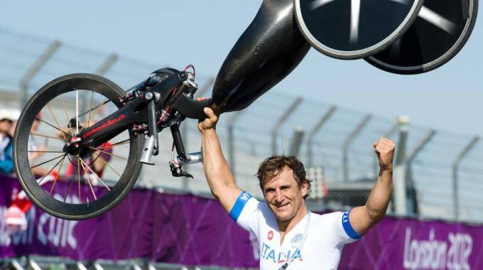 Magnifico Zanardi: oro nella crono individuale a Londra 2012