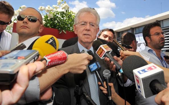 """Mario Monti al contrattacco di Giorgio Squinzi: """"Le dichiarazioni di Confindustria fanno aumentare lo spread"""""""