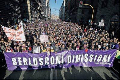 POPOLO VIOLA / 'No B-Day 2', domani movimenti ed associazioni di nuovo in piazza a Roma