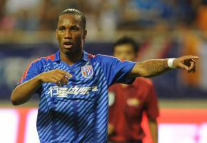 TO GO WITH Fbl-Asia-CHN-Drogba,FOCUS by