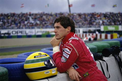Ayrton Senna (getty images)