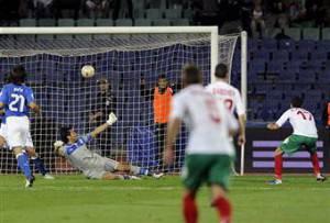 Il secondo gol della Bulgaria (getty images)