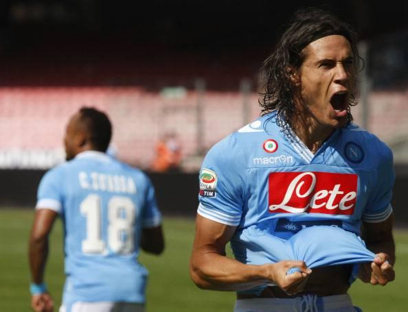 Serie A, 5a Giornata: Napoli – Lazio 3-0. Cavani è un extraterrestre