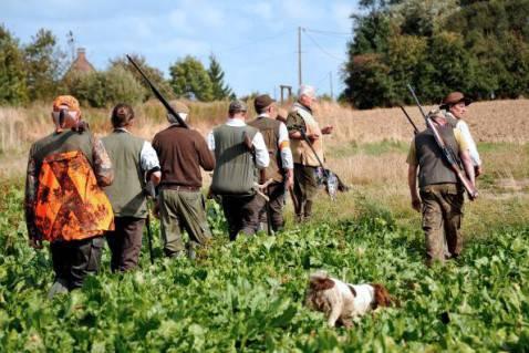 Una battuta di caccia (Getty Images)