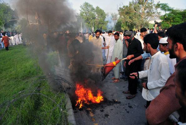Proteste in Pakistan (getty images)