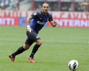 Wesley Sneijder (getty images)