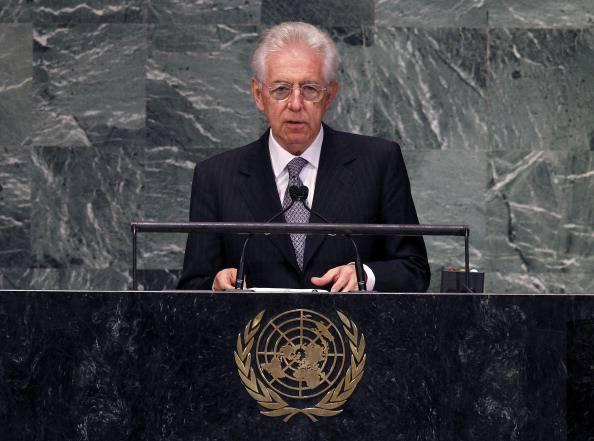 """Mario Monti a New York: """"L'Italia non è più a rischio, è un bene per l'Europa e l'economia mondiale"""""""