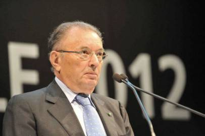 Giorgio Squinzi presidente di Confindustria (Getty Images)
