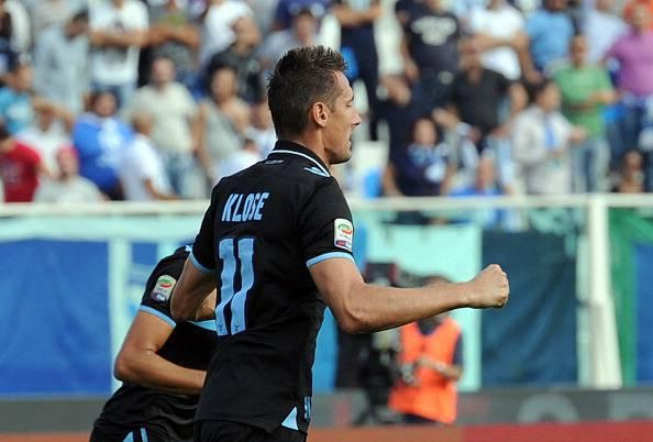 Pescara – Lazio 0-3: troppo facile con un Klose così