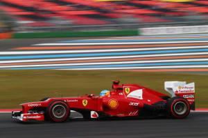 La Ferrari di Fernando Alonso  (getty images)