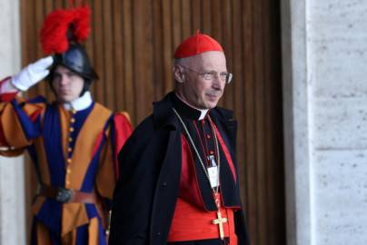 Il cardinale Angelo Bagnasco (Getty Images)