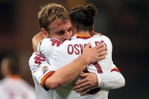 "De Rossi trattiene Osvaldo: ""Se va via perdiamo un grande calciatore"""