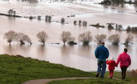 Alluvioni in Gran Bretagna (Matt Cardy/Getty Images)