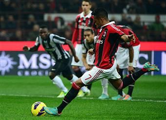 Milan-Juventus 1-0, Robinho con un rigore discusso sconfigge i bianconeri VIDEO