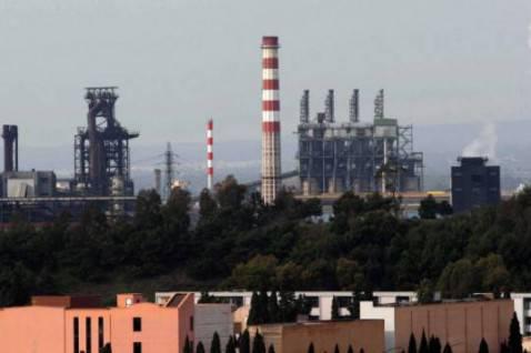Ilva di Taranto (Photo DONATO FASANO/AFP/Getty Images)
