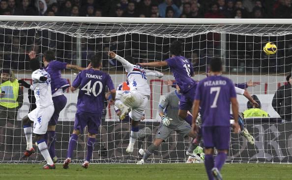 Serie A, 15a giornata: Fiorentina – Sampdoria 2-2. Savic salva i viola