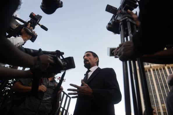 Il re degli antivirus John McAfee arrestato in Guatemala