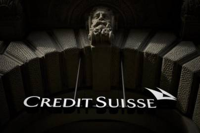 Insegna Credit Suisse (Getty images)