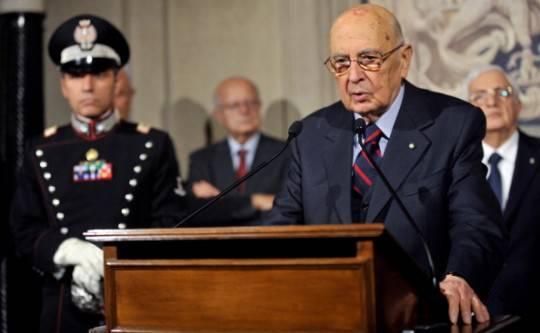 """Napolitano: """"Non posso mettere una scadenza al mio mandato"""""""