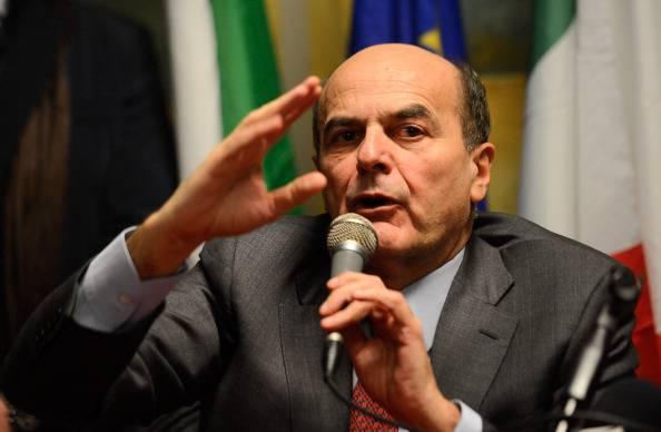 Bersani: non basta protestare per cambiare