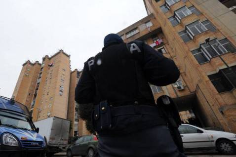Polizia Napoli (MARIO LAPORTA/AFP/Getty Images)