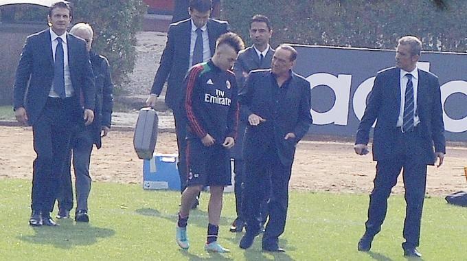 """Milan, Berlusconi: """"A gennaio compro. E Balotelli…"""""""